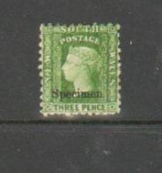 SPECIMEN Queen VICTORIA Mint - Neufs