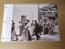 Feuillet Double 1er Jour - La SODOP - 1895/1995 - 1er Siècle Du Cinéma - 1990-1999