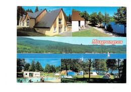 Cpm - 23 - MASGRANGEAS - Lac - VILLAGE VACANCES ROYERE DE VASSIVIERE Camping Tente Piscine - Debaisieux T.S.7 - Altri Comuni