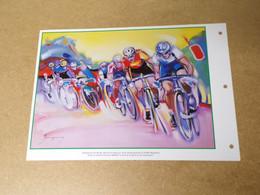 Feuillet Double 1er Jour - 67è Championnat Du Monde De Cyclisme - 2000 - 2000-2009