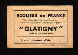 France - Bloc Feuillet 20 Vignettes - Ecoliers De France - JEANNE D' ARC - Autres