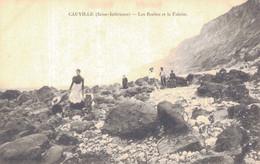 76 - CAUVILLE / LES ROCHES ET LA FALAISE - Autres Communes