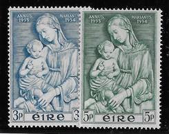 Irlande N°122/123 - Neufs ** Sans Charnière - TB - Unused Stamps