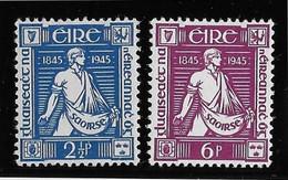 Irlande N°102/103 - Neufs ** Sans Charnière - TB - Unused Stamps