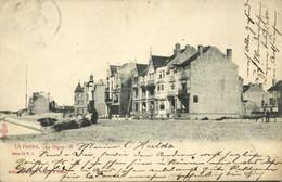 Belgium, LA PANNE, La Digue (1902) Postcard - De Panne