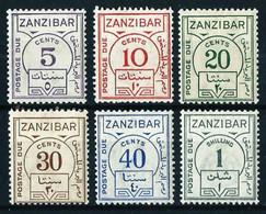 Zanzíbar (Británica) Nº Tasa-15/20 Nuevo**/* - Zanzibar (...-1963)