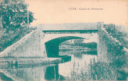 89 - CUSY / CANAL DU NIVERNAIS - Ancy Le Franc