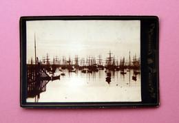 Fotografia Vardo Norvegia Midnightsun 1885 Navi - Non Classificati
