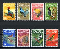 Malaysia MiNr. 19-26 Postfrisch MNH Vögel (1C991 - Malaysia (1964-...)