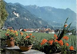 Vaduz Mit Schloss, Fürstentum Liechtenstein - Liechtenstein
