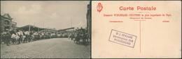 "Carte Postale - Brasserie WIELEMANS - CEUPPENS (Bruxelles, Chargement Des ""camions"") / Neuve - Bar, Alberghi, Ristoranti"