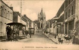 België - Bonsecours - Grande Rue Tramways - Tram - 1911 - Unclassified