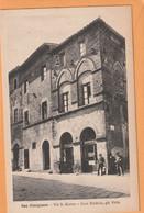San Gimignano Italy 1908 Postcard - Autres Villes