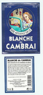 Etiquette De Bière Avec Contre étiquette France Brasserie  La Choulette - Bière
