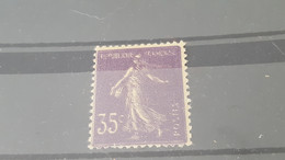 LOT549992 TIMBRE DE FRANCE NEUF* N°136 VARIETE D IMPRESSION - Unused Stamps