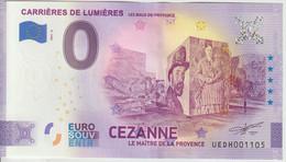 Billet Touristique 0 Euro Souvenir France 13 Baux De Provence 2021-6 N°UEDH001105 - Essais Privés / Non-officiels