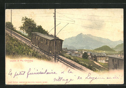 AK Leysin, Panorama Et Pic Chaussy, Bergbahn - Ohne Zuordnung