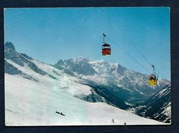 Aux Environs D'Argentière (74) - Le Télécabine Du Tour Et Les Pistes Du Col De Balme - Charamillon - Vallée De Chamonix - Ohne Zuordnung
