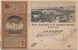 Italie Feste Centenarie Di S Giovanni Battista GENOVA 1899 - Genova (Genoa)