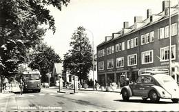 Nederland, OOSTERBEEK, Utrechtseweg, VW Beetle, Trolleybus (1960s) Ansichtkaart - Oosterbeek