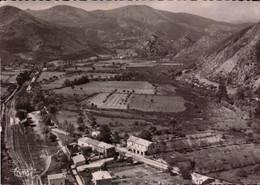 Corse, Ponte-Nuovo,vue Generale Aerienne Quartier De La Gare   (bon Etat) - Andere Gemeenten