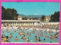 264165 / Bulgaria Velingrad Welingrad 1977 PC , The Beach And The Mineral Pool Nude Boy Men, 10.5 X 7.3 Cm.  Bulgarie - Bulgaria