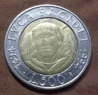 500 LIRE 1994 ITALIE  En L'état Sur Les Photos - 500 Lire