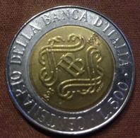 500 LIRE 1993 ITALIE  En L'état Sur Les Photos - 500 Lire