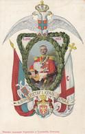 Serbia - 2 Giugno 1903 - Stemma Reale  - F. Piccolo - Nuova - Molto Bella - Serbia