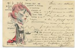 ILLUSTRATEUR - NORWIN'S - N°7 LES CLOUS DE L'EXPOSITION - SARAH BERNARDT - Norwins
