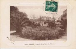 34 - Montpellier (Hérault) - Jardin De La Gare De Palavas - Montpellier