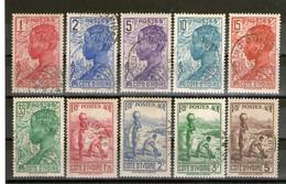 Cote D'Ivoire 10 Timbres°  Pochette° - Oblitérés