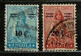 Angola, 1934, # 247/8, Used - Angola
