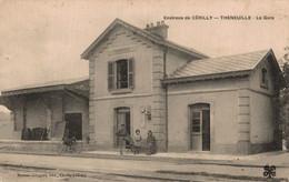 03 THENEUILLE     CPA Environs De Cerilly  La Gare - Otros Municipios