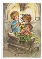 Joyeux Noël. Trois Petits Anges, Bougie - Non Classés