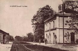 03 ST-DESIRE    CPA   La Gare - Otros Municipios