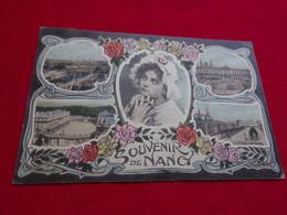 CARTE POSTALE ANCIENNE MULTIVUES  SOUVENIR DE NANCY 54 - Nancy