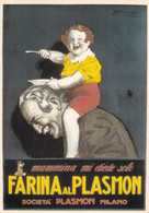 L.A Mauzan, Affiche Farina Al Plasmon 1923, Carte Glacée - Mauzan, L.A.