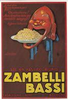 L.A Mauzan, Affiche Pour Les Pâtes Zambelli, Milan, Invitation, Carte Glacée - Mauzan, L.A.