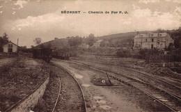 03 BEZENET    CPA   Chemin De Fer - Andere Gemeenten