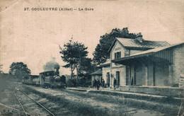 03 COULEUVRE    CPA   La Gare - Otros Municipios
