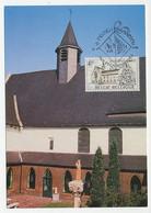 Maximum Card Belgium 1976 Church - Hunnegem - Kirchen U. Kathedralen