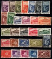 L'île De La Réunion 1933 Yv. 125-133,134-148 Neuf ** 100% Paysages - Unused Stamps