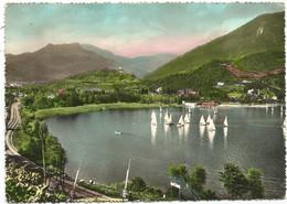 P5809 Pergine Valsugana (Trento) - San Cristoforo Al Lago - Barche Boats Bateaux / Viaggiata 1958 - Autres Villes