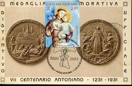 65351 Vaticano, Maximum 2021  St. Anthony  St. Antoine  San Antonio,  Vintage Card - Maximum Cards