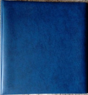 LINDNER - RELIURE STANDARD BLEUE (REF. 1102 Y-B) - Reliures Seules