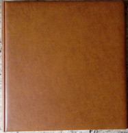 LINDNER - RELIURE STANDARD TABAC (REF. 1102 Y) - Reliures Seules