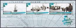 Ross-Gebiet 2015 Antarktis Antarctica Shakleton-Expedition Schiffe Ships Endurance Elephant Island Entdecker, Bl. 14 ** - Ongebruikt
