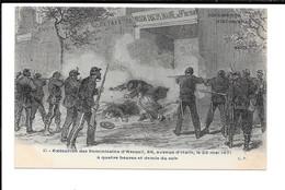 Paris - 26 Mai 1871 - Exécution Des Dominicains D'Arcueil, 88, Avenue D'Italie, à Quatre Heures Et Demie Du Soir - Unclassified