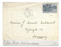 Gabon Maury N° 125 Oblitéré Seul Sur Lettre Entière De 1932. B/TB. A Saisir! - Covers & Documents